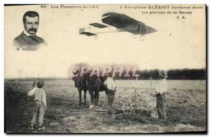 Old Postcard Jet Aviation Wright Airplane operating in the plains of Bauce pl...