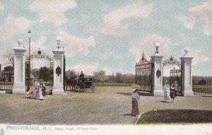 PROVIDENCE, Rhode Island, 00-10s; Gates, Roger Williams Park ; TUCK #1072