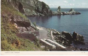 Post Card Devon Torquay Anstey's Cove