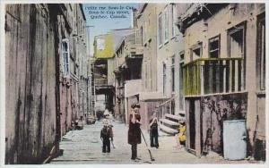 Canada Quebec Petite rue Sous-le-Cap Sous-le Cap Street