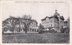 HACKETTSTOWN , New Jersey,  PU-1943; Admin. Building and Dormitory