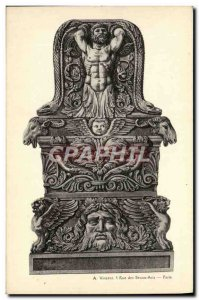 Old Postcard Antiquity