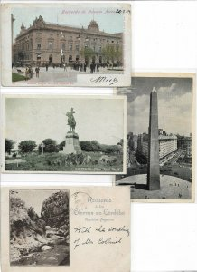 Argentina Postcard Lot With Buenos Aires And More Postcard Lot of 7 01.12