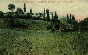 greece, PATRAS PATRA, La Monastere Gerocomiou, Monastery (1910s) Postcard