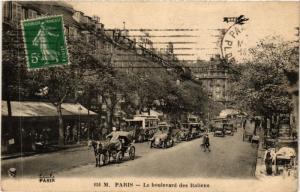 CPA Paris 9e - Le Boulevard des Italiens (273461)
