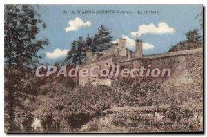 Postcard Old La Chaize le Vicomte The Castle