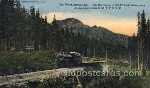 The Olympian Train Trains Locomotive, Steam Engine,  Postcard Postcards  The ...