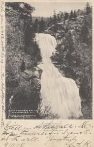 SAPPHIRE COUNTRY , North Carolina , PU-1905 ; Whitewater Falls