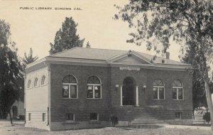 SONOMA, California , 00-10s ; Public Library