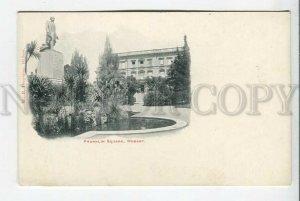 439377 AUSTRALIA HOBART Franklin square Vintage postcard