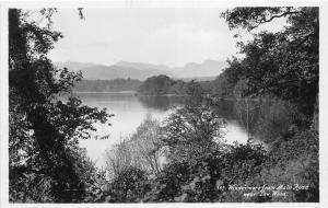 BR61733 windermere from main road near  low wood real photo   uk