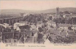France Chateau Thierry Vue pris de Vieux Chateau