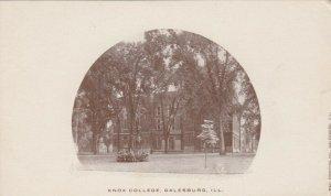 GALESBURG, Illinois, 1901-07; Knox College