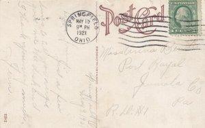 SPRINGFIELD, Ohio, PU-1921; Recitation Hall, Wittenberg College