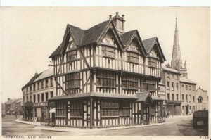 Herefordshire Postcard - Old House - Hereford - Ref 8390A