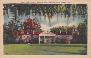 Virginia Orange Montpelier Home Of James Madison
