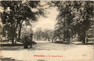 CPA TOULOUSE - Le Grand-Rond (582629)