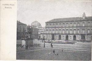 Italy Napoli Piazza Plebiscito