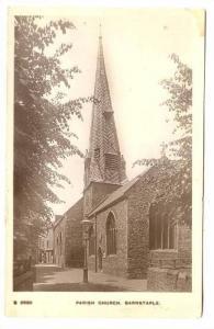 RP, Parish Church, Barnstaple (Devon), England, UK, 1920-1940s