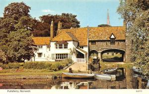 Norwich Pullsferry Partial view Boats Bateaux