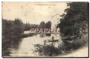 Old Postcard Gervaud The Mill on the Sevre