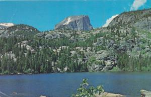 Bear Lake near Hallet Peak - Rocky Mountain National Park CO, Colorado - pm 1974