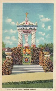 DICKEYVILLE , Wisconsin , 1947 ; Sacred Heart Shrine