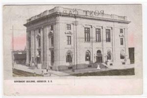 Government Building Aberdeen South Dakota postcard