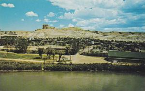 Scenic view,Green River, Wyoming,40-60s