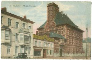 Belgium, Liege, Musee Curtius, early 1900s unused Postcard CPA