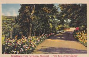 Missouri Greetings From Seymour 1942