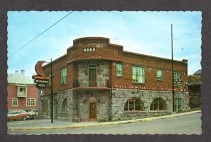 PQ Hotel Croissant D'or Riviere du Loup QUEBEC Canada Carte Postale Postcard