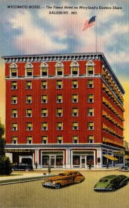 Maryland Salisbury The Wicomico Hotel