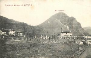 Italy Military Cemetery Cimitero Militare di Posina Monte Gamonda