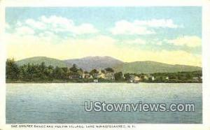 The Ossipee Range Lake Winnipesaukee NH Unused