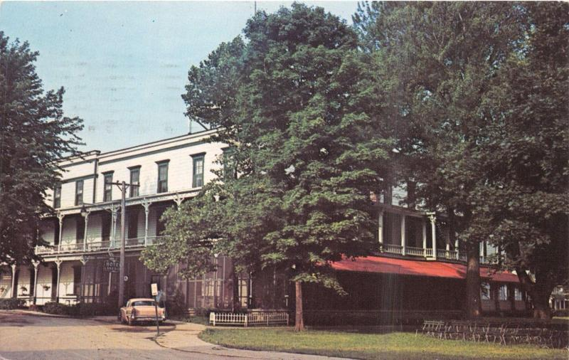 Lakeside ohio lakeside hotel facing central park lake erie lakeside ohio lakeside hotel facing central park lake erie postcard 1966 publicscrutiny Image collections
