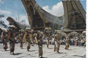 Manganda Dance at Siguntu, Toraja Land, South Sulawesi, Indonesia, PU-1978