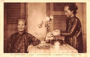 Cochinchine Vietnam, Viet Nam Saigon, La Famille Annamite Cochinchine Saigon,...