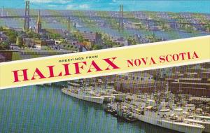 Canada Greetings From Halifax Nova Scotia