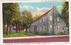 New York Kingston Old Senate House & Grounds Showing New York State Museum Fr...