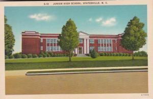 North Carolina Statesville High School 1956