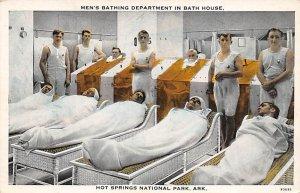 Men's Bathing Department Hot Springs National Park, Arkansas, USA Unused
