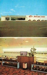 Rio Grande NJ Rio Bowling Lanes Duo View Tradecard