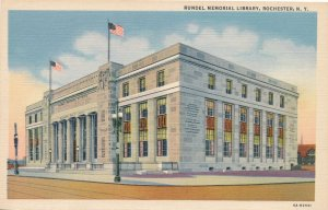 Rochester NY, New York - Rundel Memorial Library - Linen