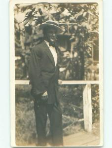 Old rppc MAN - MEN - MALE Possible Gay Interest Postcard AB1737