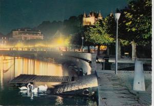 Switzerland, Suisse, NYON, Soiree d'ete' sur le Quai, unused Postcard