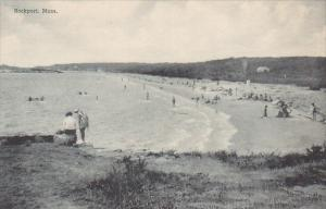 Beach Scene Rockport Massachusetts Albertype