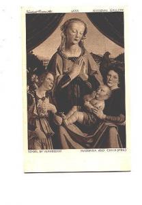 School of Verrocchio, Madonna Child,