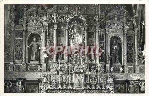 Postcard Modern Nice Cimiez Altar altarpiece Bois Dore (1546)