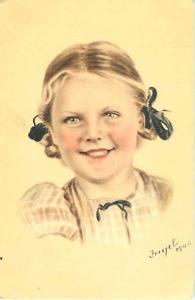 Cute Little Girl by Fngel? 1945 Netherlands